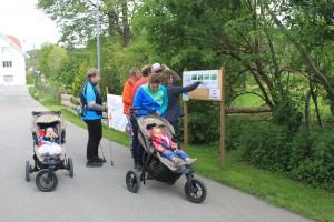 Kinderwagentaugliche Wege